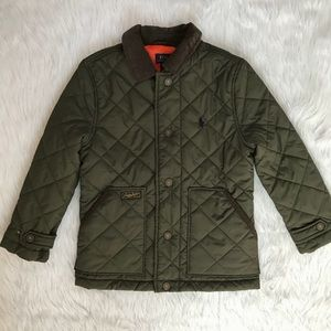 Boys Ralph Lauren Polo Quilted Field Jacket
